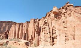 Talampaya national park panorama, Argentina. Stock Image
