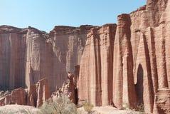 Talampaya Nationalparkpanorama, Argentinien. Stockbilder