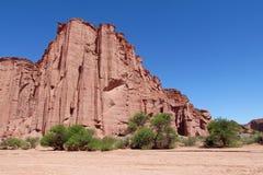 Talampaya red Canyon rocks Stock Images