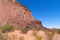 Talampaya rock canyon, Argentina Royalty Free Stock Photo