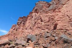 Talampaya rock formation canyon, Argentina Royalty Free Stock Photos
