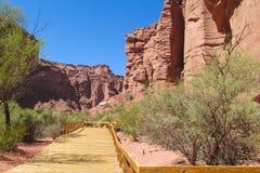 Talampaya rock formation canyon, Argentina Stock Image