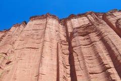 Talampaya rock formation canyon, Argentina Royalty Free Stock Images