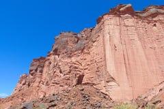 Talampaya rock formation canyon, Argentina Royalty Free Stock Image