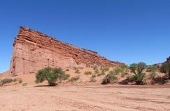 Talampaya rock formations Royalty Free Stock Image