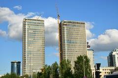 TALAN STÅR HÖGT i Astana Royaltyfria Foton