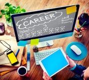 Talangen för karriärtalangexpertis drar nytta ockupationbegrepp arkivfoto