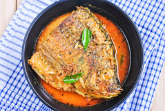 Fish Curry Royalty Free Stock Images