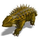 talarurus de dinosaur illustration stock
