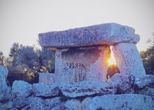 Talati de Dalt en Minorca imágenes de archivo libres de regalías