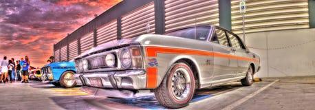 70-talaustralier Ford Falcon 351 GT Arkivbilder