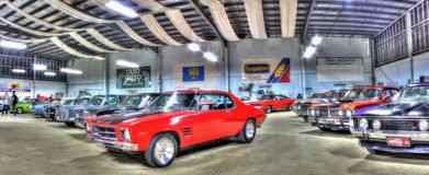 70-talaustralier Holden GTS Monaro Royaltyfri Foto