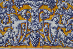 Talavera ceramic tiles Stock Photo