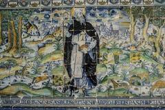 Talavera garncarstwo, płytki Bazylika Del Prado, Talavera De La Reina Obrazy Royalty Free