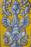 Talavera garncarstwo, płytki bazylika Del Prado, Talavera De La Reina Obraz Stock