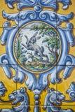 Talavera garncarstwo, płytki bazylika Del Prado, Talavera De La Reina Zdjęcie Royalty Free