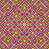 Talavera oblana Mexican seamless pattern Royalty Free Stock Images