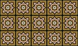 Talavera pattern. Indian patchwork. Azulejos portugal. Turkish ornament. Moroccan tile mosaic vector illustration