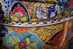 Talavera pottery Stock Photo