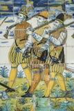 Talavera pottery, tiles Basilica del Prado, Talavera de la Reina Royalty Free Stock Images