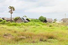 In Talawila wohnen, Sri Lanka Stockfotografie