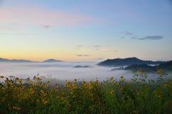 Talay Mok Yhun Lhai Viewpoint nearly Yunnan Cultural Village stock image
