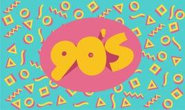 90-talbakgrund eller baner Fotografering för Bildbyråer