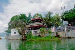 TalBarahi, Pokhara, Nepal Royalty-vrije Stock Afbeeldingen