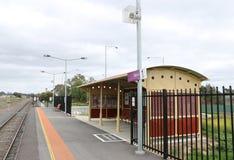 Talbot火车站再开了2013年12月22日 库存图片