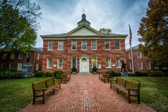 Talbot County Courthouse, i Easton, Maryland Arkivfoto