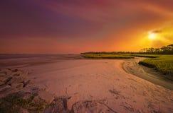 Talbot Island grande Foto de Stock Royalty Free