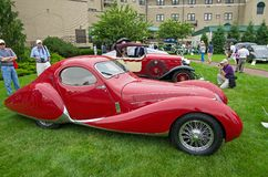 1937 Talbot-Lago T-150C Royalty Free Stock Photo