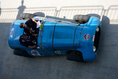 1947 Talbot-Lago T26 GS in Mille Miglia Royalty-vrije Stock Foto's