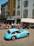 Talbot Lago T26 GS at Mille Miglia 2015 Royalty Free Stock Photo