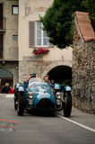 Talbot Lago T26 Le Mans at Bergamo Historic Grand Prix 2015 Royalty Free Stock Photography