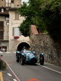 Talbot Lago T26 Le Mans at Bergamo Historic Grand Prix 2015 Royalty Free Stock Photos