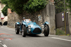 Talbot Lago T26 Le Mans at Bergamo Historic Grand Prix 2015 Stock Photos