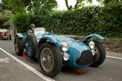 Talbot Lago T26 Le Mans at Bergamo Historic Grand Prix 2015 Stock Photo