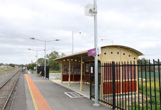 The Talbot Railway Station reopened on December 22, 2013 Stock Images
