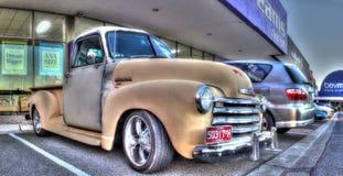 40-talChevy för tappning amerikansk pickup Royaltyfri Fotografi