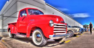 40-talChevy Thriftmaster pickup Arkivfoto