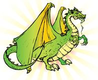Tale dragon Royalty Free Stock Photos