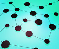 Tale Network Background Stock Photo