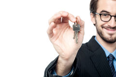 Tale your house keys. Stock Images