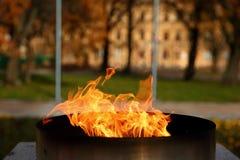 Talen †‹â€ ‹van brand het branden in de kaars Royalty-vrije Stock Afbeeldingen
