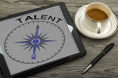 Talent concept Royalty Free Stock Photography