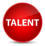 Talent elegant red round button Stock Photos