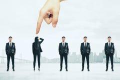 Talent en rekruteringsconcept stock afbeelding