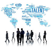 Talent Expertise Genius Skills Professional Concept.  royalty free stock photos
