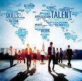 Talent Expertise Genius Skills Professional Concept Royalty Free Stock Photos